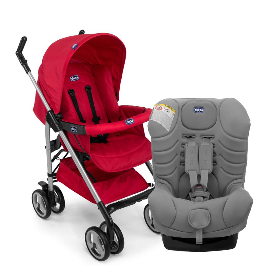 Pachet Promo Chicco, carucior sport Sprint + scaun auto Eletta