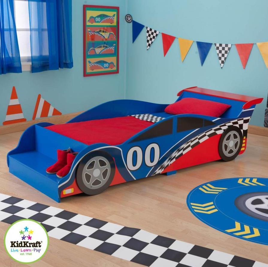 Pat pentru baieti Kidkraft Race Car