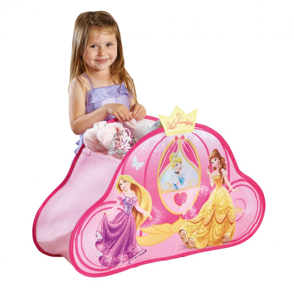 Cosulet pentru hainute si jucarii Disney Princess