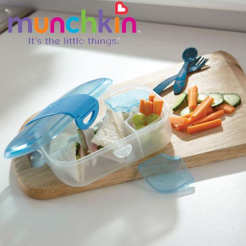 Set hranire Mealtime Click Lock Blue