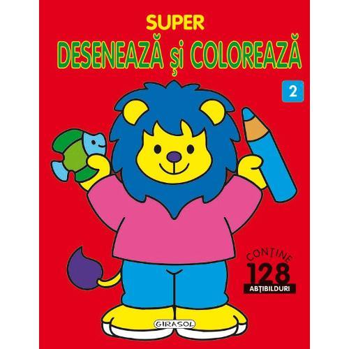 Super Deseneaza si Coloreaza Nr.2