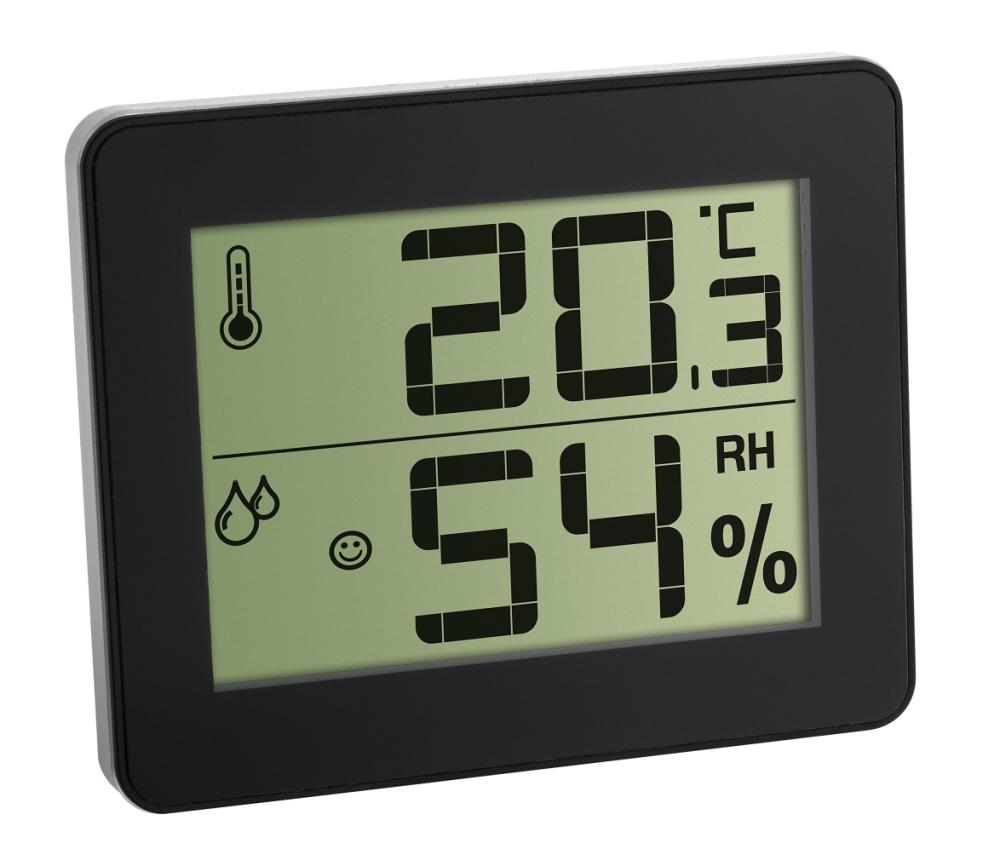 Termometru si Higrometru digital de camera extra-plat TFA 30.5027.01