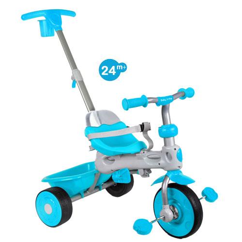 Tricicleta Baby Trike 4 in 1 Deluxe Aqua