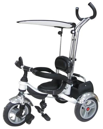 Tricicleta Pentru Copii Cu Roti Gonflabile Kr01 Wh