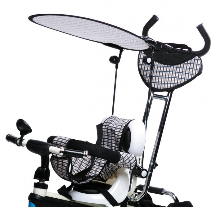 Tricicleta pentru copii cu roti gonflabile KR01 White