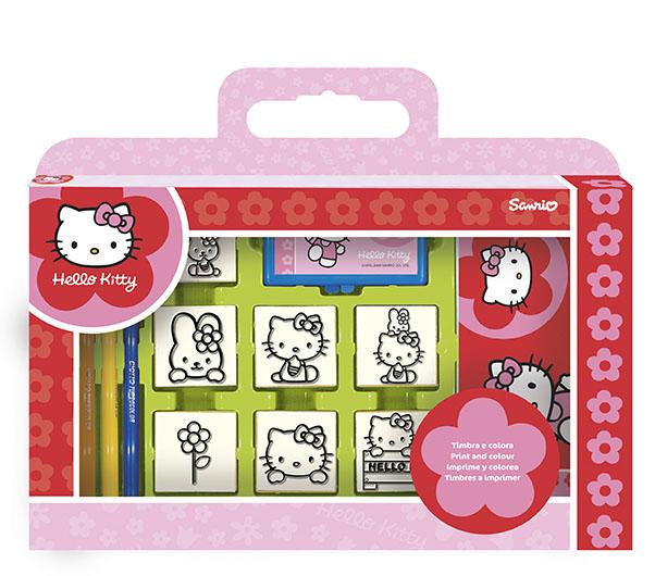 Trusa 7 stampileHello Kitty