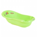 Cadita de baie bebe cu termometru Kubus 100 cm Verde
