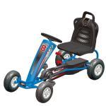 Kart cu pedale pentru copii Power Racer Albastru