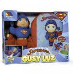 Papusa Gusy Luz Superman + Rucsac