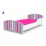 Patut Nobiko Small Rainbow 160x80 cu saltea