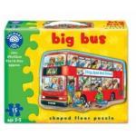 Puzzle de podea - Autobuz (15 piese)
