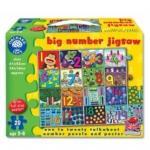 Puzzle gigant de podea - Invata numerele de la 1 la 20