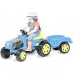 Tractor electric cu remorca Country