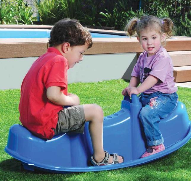 Balansoar Copii Trio Star Blue
