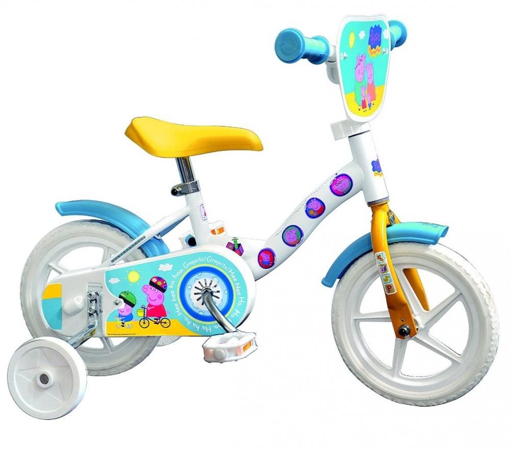 Bicicleta copii Peppa Pig diametru 10 inch