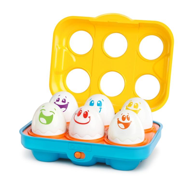 Jucarie Put n Shake Eggs  Giggling Gourmet