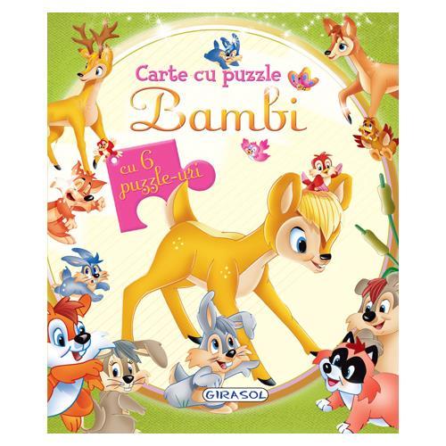 Carte cu Puzzle Bambi