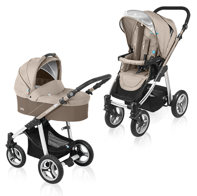 Carucior multifunctional 2 in 1 Baby Design Lupo Beige