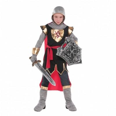 Costum Carnaval Copii Cavaler Cruciat 8-10 ani
