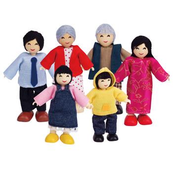 Familie de 6 membri (asiatici) Hape