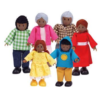 Familie de 6 membri (negri) Hape