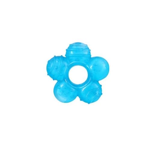 Inel gingival flexibil cu gel de racire Albastru