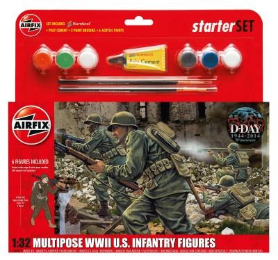 Kit constructie Infanterie Americana