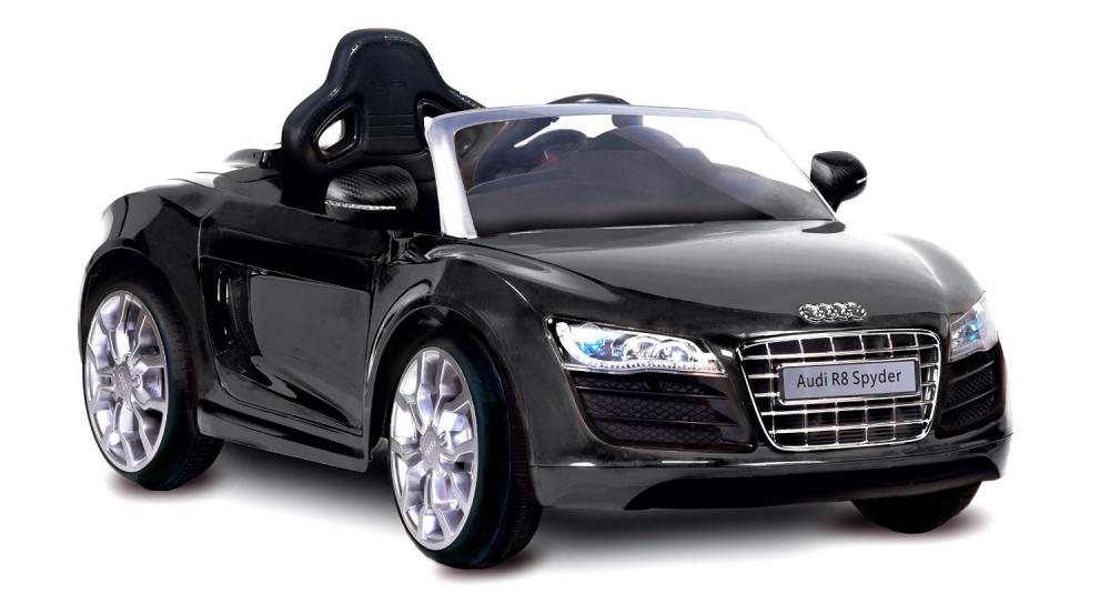Masinuta electrica cu telecomanda Audi R8 Spyder