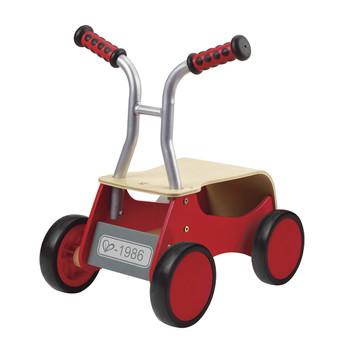 Mini masinuta din lemn Hape