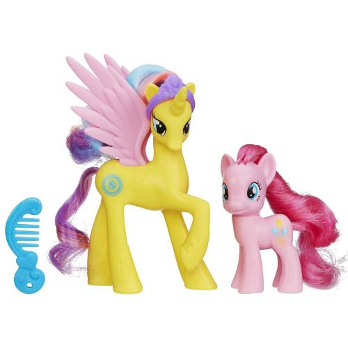 My Little Pony - Princess Gold Lily si Pinkie Pie