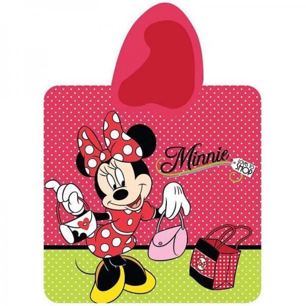Poncho Minnie Mouse 60x120 cm STC03PT