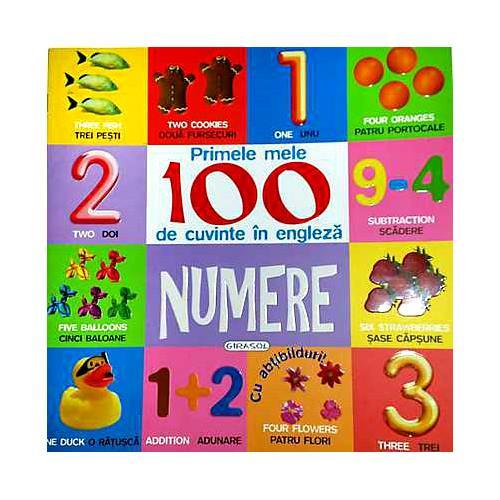 Primele 100 Cuvinte in Engleza Numere