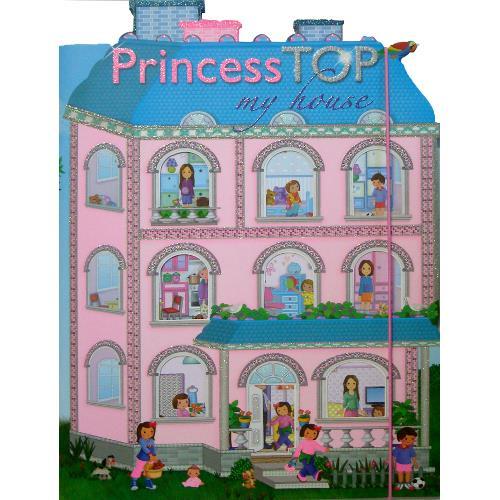 Princess Top - My House Blue