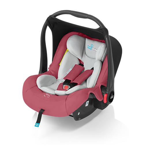 Scaun auto Baby Design Leo Raspberry