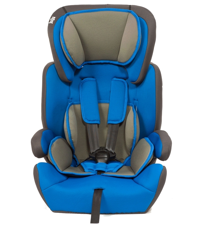 Scaun auto Safe Rider Albastru-Gri