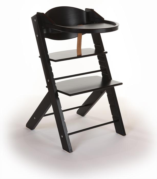 Scaun inalt copii Treppy negru
