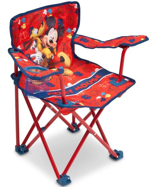 Scaun Pliant Camping Disney Mickey Mouse