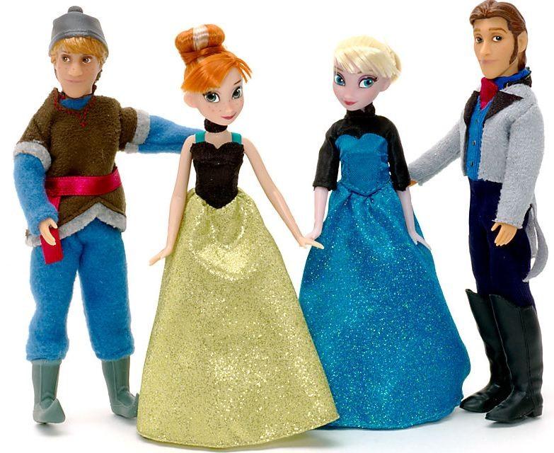 Set 4 papusi Disney Frozen