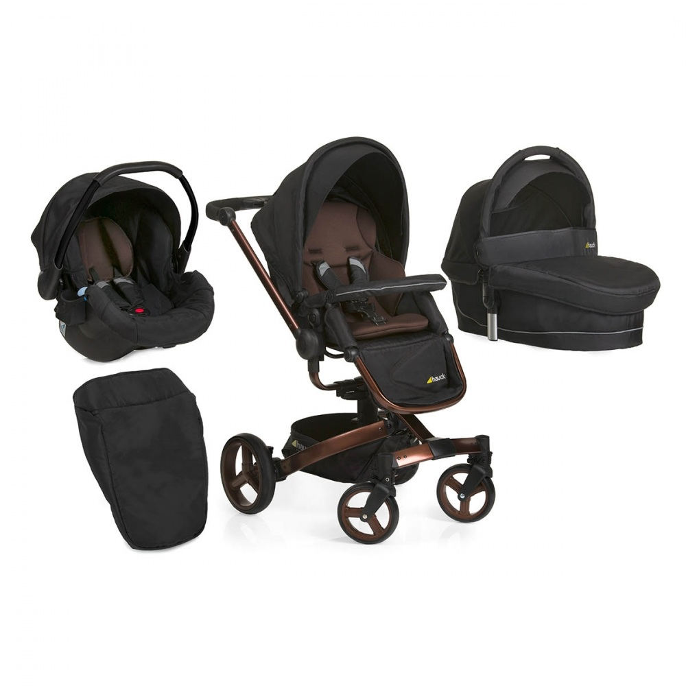 Set Carucior Twister Trioset Chocolate