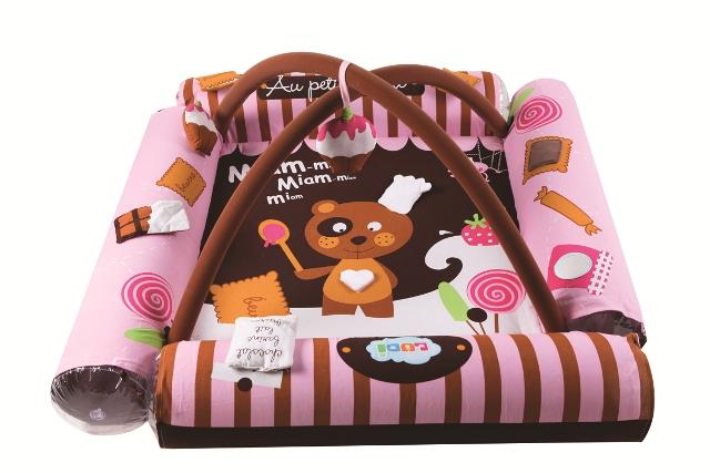 Spatiu de joaca gonflabil Gourmandises Roz Ludi