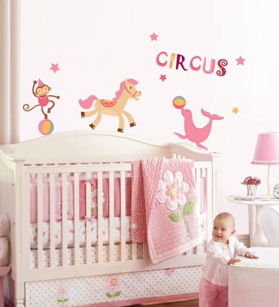 Sticker decorativ Circ vesel