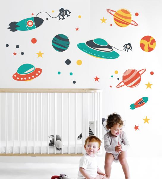 Sticker decorativ Cosmos