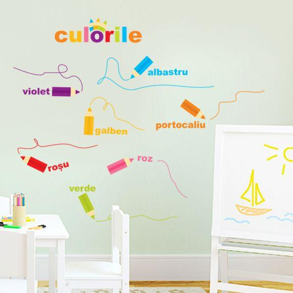 Sticker Decorativ Creioanele Magice