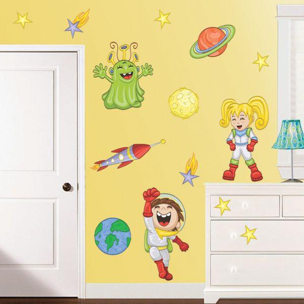 Sticker decorativ Explorand Spatiul Cosmic