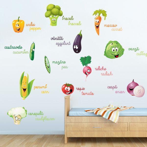 Sticker decorativ Legumele Vesele
