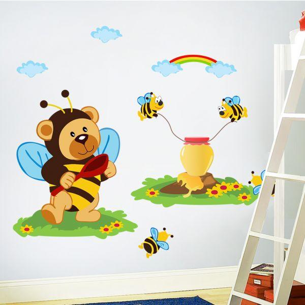 Sticker decorativ Micul Pofticios