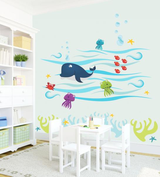 Sticker decorativ Ocean