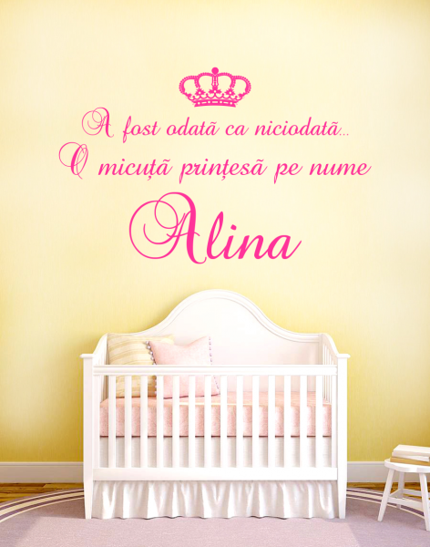 Sticker decorativ Princess