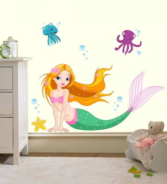 Sticker decorativ Sirena
