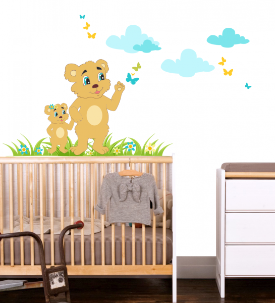 Sticker decorativ Ursi